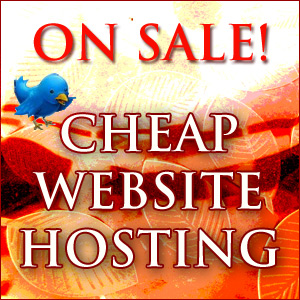 Cheap Website Hosting Is On Sale
